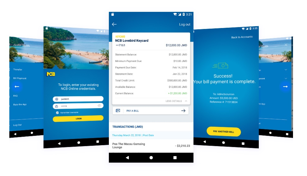A Review of NCB's Mobile Banking App